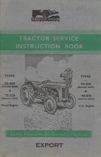 Cover of Early TEA 20 Instruction book